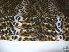 MADE TO MEASURE lined ROMAN BLIND faux fur LYNX CAT