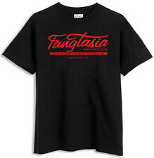 TRUE BLOOD'S FANGTASIA RED ON BLACK T-SHIRT