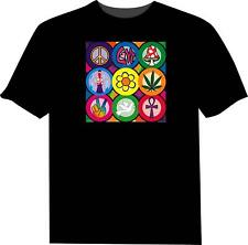 XTreem - Hippy Graphic Equaliser T-Shirt M/L/XL