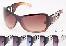IG Sunglasses Oversized  Womens Fashion Shield Eyewear IG8857 multi