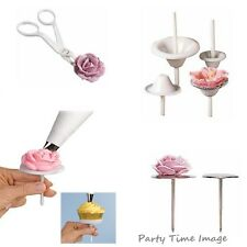 WILTON flower nail,lily nail,FLOWER LIFTER & sets fast