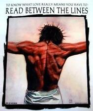 READ BETWEEN THE LINES Christian JESUS T-shirt  (S-3X)