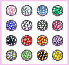 SS10 COLOR HOT FIX RHINESTONE CRYSTAL LOOSE BLING 10SS
