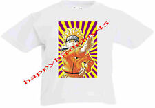 Naruto Uzumaki KIDS WHITE T SHIRT AGE 5 to 12 BRAND NEW