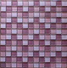 glass tile mosaic, 8mm  thick 4''x6'' sample