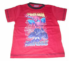 BOYS T-SHIRT/TOP SPIDERMAN AGE 3-8 YRS OLD NEW