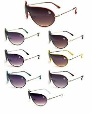 New DG Womens Fashion Designer Sunglasses Shades Aviator Neon Shield DG7226