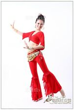 Belly Dance Costume Half-sleeve Top & Pants 9 colours