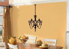 Chandelier Light Vinyl Wall Stickers Decal Room Decor