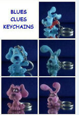 5 NICKELODEON BLUES CLUES KEYCHAIN ZIPPER PULL YOU PICK