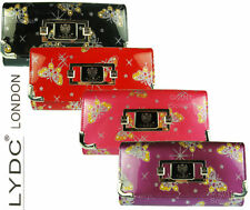 LYDC Designer Womens Purse Patent Butterfly Clutch Bag