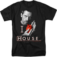 Licensed NBC House M.D MD I Heart House Adult Shirt S-3XL
