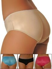 Padded Butt Enhancer Super Low-Rise Panty Booty Brief Rear Shaper Pop Underwear