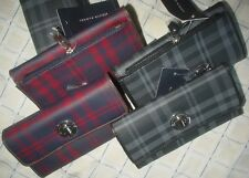 Tommy Hilfiger Womens Plaid Checkbook Clutch Purse Wallet New MSRP $39