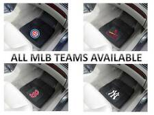 Brand New set of 2 Front & 2 Back Vinyl / Rubber Heavy Duty MLB Car Floor Mats