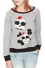 Glam Skull Girls Sweatshirt  NWT! FREE SHIPPING!