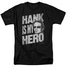Licensed Showtime Californication Hank Is My Hero Adult Shirt S-3XL