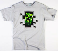 Official Minecraft Creeper Inside T-Shirt ! 100% Licenced & Genuine