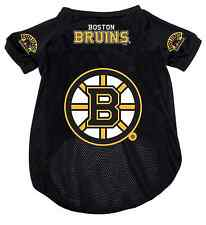 NEW! BOSTON BRUINS PET DOG MESH HOCKEY JERSEY ALL SIZES LICENSED