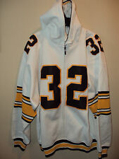 Pittsburgh Steelers White Harris #32 Vintage Looking Boys Hoody Jacket Sm to Lar