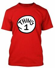 Thing 1 Thing 2 Cat in the Hat T shirt  - Child & Adult