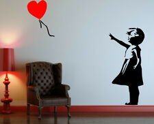 Banksy Graffiti ' Balloon Girl ' Art Wall Decal Sticker ! HIGH QUALITY !