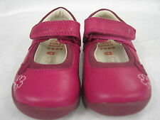 """CHILDRENS CLARKS SHOES IN F AND G FITTING """"SOFTLY SUE FST"""""""