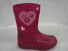 "CHILDRENS CLARKS LEATHER BOOTS IN F AND G FITTING ""ALANA CHIC FST"""