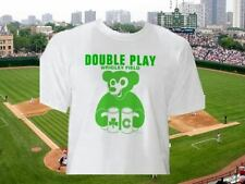 Brand New NWT Chicago Cubs Wrigley Field Double Play Shamrock T Shirt