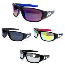 New Designer Mens Sunglasses Mirror Lens 5 Colors Motorcycle Black FF7820 multi