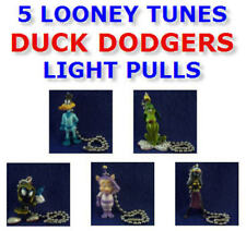 5 LOONEY TUNES DUCK DODGERS FIGURE LIGHT LAMP FAN PULL CONNECTORS YOU PICK ONE!