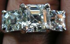 ASSCHER Cut LOOSE Lannyte Diamond Lab IF-D/E diamond 1 1.5  2 2.5  3  4  5 Carat