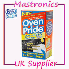 OVEN PRIDE - OVEN AND BBQ CLEANER 1 2 3 6 & 12 CLEANING SYSTEM WASHING KITCHEN