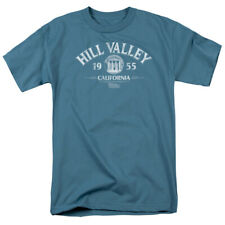 Back To The Future Hill Valley 1955 Officially Licensed Adult Shirt S-3XL