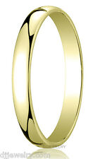 3mm 18K Yellow Gold SZ 7 - 7.75 Round Wedding Band Ring 1mmThick Engraved Free