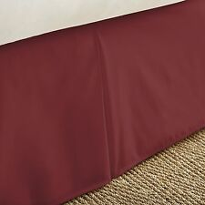 "BRAND NEW BED SKIRT DUST RUFFLE! 12 Colors! All Sizes! 14"" Drop Length ON SALE!!"