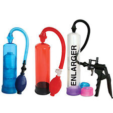 PENIS PUMP ENLARGER EXTENDER DEVELOPER STRETCHER VACUUM ERECTION + IMPOTENCE AID