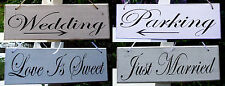 Romantic Shabby Chic sign - Lovely rustic party decor for Weddings & Engagements