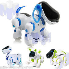 Children Kids Electronic Robot Pet Dog Walking Bump n Go Puppy Toys Girls Boys