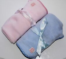 Pink Pig Clothing Company Baby Fleece Blanket Choice of Colour SP £24 NEW