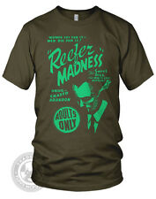 REEFER MADNESS Vintage B Movie weed Poster pipe on American Apparel 2001 T-Shirt