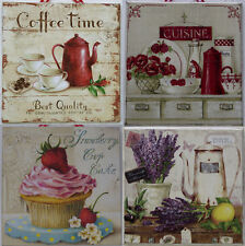 Shabby Chic Picture Plaque Kitchen Decor - Lovely original gift for Mother's Day
