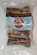 Natural Dog Treats, Gourmet Beef Marrow Bones for Dog, Healthy Lasting Chew Toy