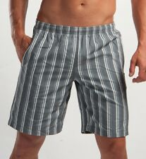 GERONIMO Mens Swimming Sexy Shorts Grey Striped , Swim shorts , Beach