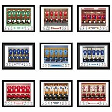 PERSONALISED FOOTBALL SHIRT TEAM SIGNED PHOTO PRINT Fan Christmas gift idea