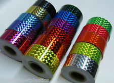 "Prism Hoop Tape, 1""  x 25 feet, Choose Any Color, Holographic Irridescent"