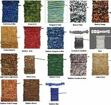 15' Pre-strung Beaded Wire * Brass Wire & Glass Seed Beads * Many Colors