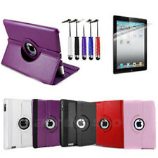 360 Degree Rotating Stand Case For New Apple iPad 2 iPad 3 v3 3rd HD Generation