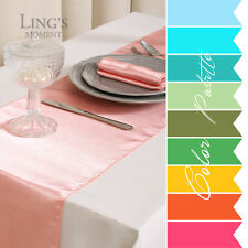 "12""x108"" Satin Table Runner Wedding / Party Venue Decoration (30 Colors)"