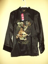 Silk Kung Fu Dragon Jacket